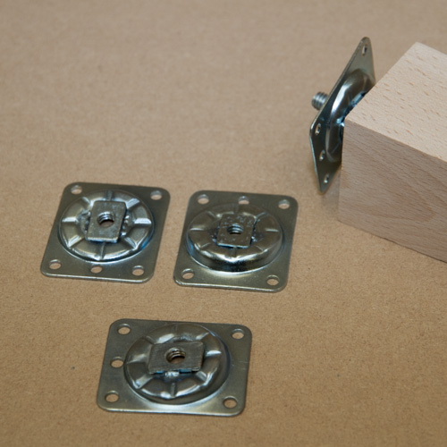 Angle Brackets with 5/16 whitworh thread sold in sets of four