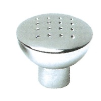 KCH33 33mm DIA. Chrome Dimple Metal Knobs