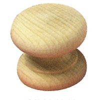 TKB452 Victorian Beech Knobs 45mm Dia
