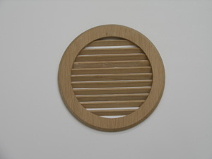 VGO04 Oak Vent Grille - SALE, reduced from £20.47